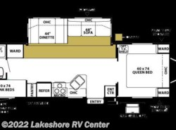 Used 2006  Forest River Wildwood 29BHSS by Forest River from Lakeshore RV Center in Muskegon, MI
