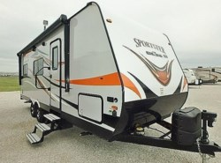 New 2017  K-Z Sportster 210TH by K-Z from McClain's Longhorn RV in Sanger, TX