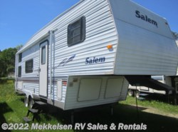 Used 2002  Forest River Salem 26BHS by Forest River from Mekkelsen RV Sales & Rentals in East Montpelier, VT