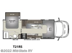 New 2018  Coachmen Orion T21RS by Coachmen from Mid-State RV Center in Byron, GA