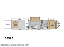 New 2018  Forest River XLR Nitro 38VL5 by Forest River from Mid-State RV Center in Byron, GA