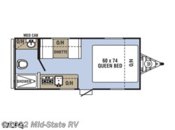 New 2019  Coachmen Clipper Ultra-Lite 17CFQ by Coachmen from Mid-State RV in Byron, GA