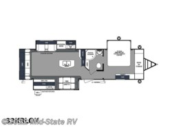 New 2019  Forest River Surveyor Travel Trailers 33KRLOK by Forest River from Mid-State RV in Byron, GA