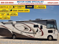 New 2017  Thor Motor Coach Hurricane 35C Bath & 1/2, Ext TV, Theater Seats, Jacks by Thor Motor Coach from Motor Home Specialist in Alvarado, TX
