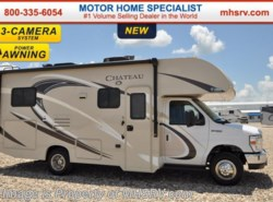 New 2017  Thor Motor Coach Chateau 24C W/Slide, Pwr. Awning, 3 Cams, 15K BTU A/C by Thor Motor Coach from Motor Home Specialist in Alvarado, TX