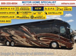 New 2017  American Coach American Revolution 42Q Bath & 1/2 W/IFS & Ultra Steer @ MHSRV by American Coach from Motor Home Specialist in Alvarado, TX