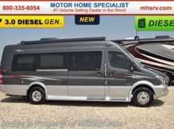 New 2017  Regency Concept One Luxury Sprinter RV for Sale W/ Diesel Gen by Regency from Motor Home Specialist in Alvarado, TX