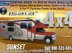 New 2018  Dynamax Corp Isata 5 Series 36DS 4X4 Super C RV for Sale W/8KW Dsl Gen, King by Dynamax Corp from Motor Home Specialist in Alvarado, TX