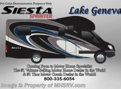 New 2017  Thor Motor Coach Four Winds Siesta Sprinter 24SV Diesel RV for Sale at MHSRV W/Jacks & Dsl Gen by Thor Motor Coach from Motor Home Specialist in Alvarado, TX