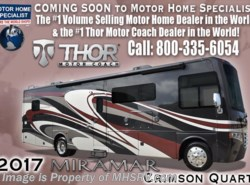 New 2017  Thor Motor Coach Miramar 35.2 RV for Sale W/King Bed & Dual Pane by Thor Motor Coach from Motor Home Specialist in Alvarado, TX