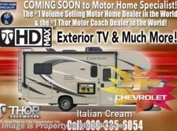 New 2017  Thor Motor Coach Chateau 22E W/HD-Max, Ext. TV, 15K A/C, Back-Up Cam & More by Thor Motor Coach from Motor Home Specialist in Alvarado, TX