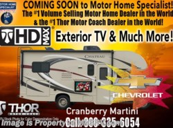 New 2018  Thor Motor Coach Chateau 22E W/HD-Max, Ext. TV, 15K A/C, Back-Up Cam & More by Thor Motor Coach from Motor Home Specialist in Alvarado, TX
