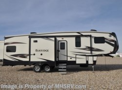 New 2017  Heartland RV ElkRidge 33RSR W/Pwr. Salon Bunk, 2 A/C Luxury Fifth Wheel by Heartland RV from Motor Home Specialist in Alvarado, TX