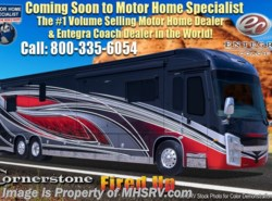 New 2018  Entegra Coach Cornerstone 45B Bath & 1/2 Luxury RV W/Limited Edition Ext. by Entegra Coach from Motor Home Specialist in Alvarado, TX