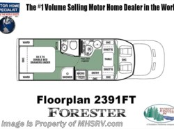 New 2018  Forest River Forester TS 2391FT Transit Diesel RV for Sale W/FBP by Forest River from Motor Home Specialist in Alvarado, TX