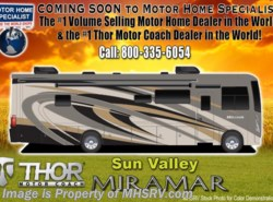 New 2018  Thor Motor Coach Miramar 35.2 RV for Sale W/Theater Seats, Dual Pane & King by Thor Motor Coach from Motor Home Specialist in Alvarado, TX