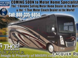 New 2019  Thor Motor Coach Miramar 34.2 RV for Sale at MHSRV W/ King & Fireplace by Thor Motor Coach from Motor Home Specialist in Alvarado, TX