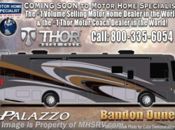 New 2017  Thor Motor Coach Palazzo 33.2 Diesel Pusher for Sale With W/D & OH Loft by Thor Motor Coach from Motor Home Specialist in Alvarado, TX