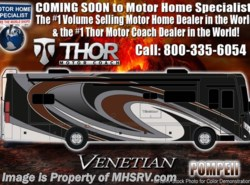 New 2018 Thor Motor Coach Venetian G36 Luxury Diesel RV for Sale W/King Bed available in Alvarado, Texas