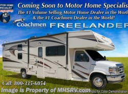 New 2018  Coachmen Freelander  31BH Bunk House W/Ent. Pkg., 15K A/C, Air Assist by Coachmen from Motor Home Specialist in Alvarado, TX