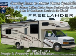 New 2018  Coachmen Freelander  28BH Salon Bunk Modell W/15K A/C, Air Assist, Ext by Coachmen from Motor Home Specialist in Alvarado, TX