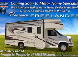 New 2018  Coachmen Freelander  22QBC RV for Sale at MHSRV W/Ext. TV, 15K A/C, AAS by Coachmen from Motor Home Specialist in Alvarado, TX
