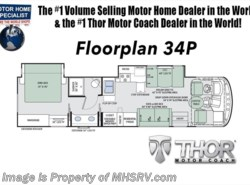New 2018  Thor Motor Coach Windsport 34P RV for Sale @ MHSRV.com W/King Bed & Dual Sink by Thor Motor Coach from Motor Home Specialist in Alvarado, TX