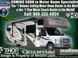 New 2018  Thor Motor Coach Quantum LF31 Bunk Model With Diamond & Platinum Pkg by Thor Motor Coach from Motor Home Specialist in Alvarado, TX