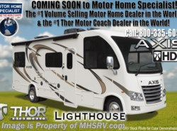 New 2018  Thor Motor Coach Axis 25.4 RUV for Sale at MHSRV W/OH Loft, IFS, 15K A/C by Thor Motor Coach from Motor Home Specialist in Alvarado, TX