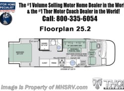 New 2018  Thor Motor Coach Vegas 25.2 RUV for Sale at MHSRV.com W/15K A/C & IFS by Thor Motor Coach from Motor Home Specialist in Alvarado, TX
