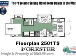 New 2018  Forest River Forester 2501TS RV for Sale @ MHSRV.com W/15K  A/C by Forest River from Motor Home Specialist in Alvarado, TX