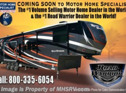 New 2017  Heartland RV Road Warrior RW427 2 Patios, Dual Pane, King, 5 TV, 3 A/Cs by Heartland RV from Motor Home Specialist in Alvarado, TX