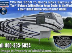 New 2017  Heartland RV Road Warrior RW427 w/Dual Pane, Arctic, 5 TVs, 3 A/C, King by Heartland RV from Motor Home Specialist in Alvarado, TX
