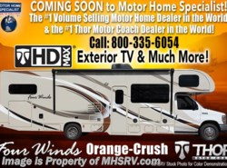 New 2018  Thor Motor Coach Four Winds 31E Bunk Model RV for Sale at MHSRV W/3 Cams by Thor Motor Coach from Motor Home Specialist in Alvarado, TX