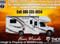 New 2018  Thor Motor Coach Four Winds 22B RV for Sale at MHSRV W/15.0K BTU A/C, Ext TV by Thor Motor Coach from Motor Home Specialist in Alvarado, TX