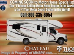 New 2018  Thor Motor Coach Chateau 22B RV for Sale at MHSRV W/15.0K BTU A/C, Ext TV by Thor Motor Coach from Motor Home Specialist in Alvarado, TX