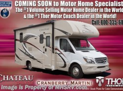 New 2018  Thor Motor Coach Chateau Sprinter 24HL Sprinter Diesel RV for Sale @ MHSRV Dsl. Gen by Thor Motor Coach from Motor Home Specialist in Alvarado, TX