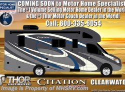 New 2018  Thor Motor Coach Chateau Citation Sprinter 24SV RV for Sale at MHSRV W/Summit Pkg & Dsl Gen by Thor Motor Coach from Motor Home Specialist in Alvarado, TX
