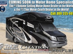 New 2018  Thor Motor Coach Chateau Citation Sprinter 24SS RV for Sale at MHSRV W/Summit Pkg & Dsl Gen