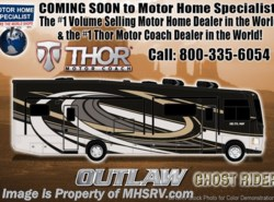 New 2018 Thor Motor Coach Outlaw 37RB Toy Hauler RV for Sale @ MHSRV Garage Sofa available in Alvarado, Texas