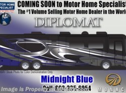 New 2018  Monaco RV Diplomat SE 43Q Bunk Model, Bath & 1/2, UltraSteer, Sat by Monaco RV from Motor Home Specialist in Alvarado, TX