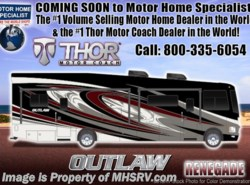 New 2018  Thor Motor Coach Outlaw 37RB Toy Hauler for Sale @ MHSRV Garage Sofas by Thor Motor Coach from Motor Home Specialist in Alvarado, TX