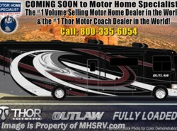 New 2019  Thor Motor Coach Outlaw 37RB Toy Hauler RV for Sale @ MHSRV Garage Sofa by Thor Motor Coach from Motor Home Specialist in Alvarado, TX