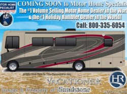 New 2018  Holiday Rambler Vacationer 35K Bath & 1/2 RV for Sale W/LX Pkg, W/D, Sat by Holiday Rambler from Motor Home Specialist in Alvarado, TX