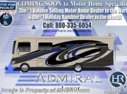 New 2018  Holiday Rambler Admiral 31B Bunk Model W/2 A/C, 5.5KW Gen, Res Fridge by Holiday Rambler from Motor Home Specialist in Alvarado, TX