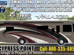 New 2019  Thor Motor Coach Palazzo 36.3 Bath & 1/2 RV for Sale W/Theater Seats & W/D by Thor Motor Coach from Motor Home Specialist in Alvarado, TX