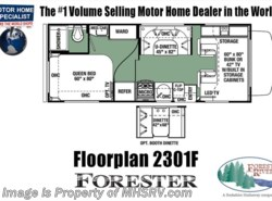 New 2018  Forest River Forester 2301C RV for Sale @ MHSRV W/ 15K BTU A/C by Forest River from Motor Home Specialist in Alvarado, TX