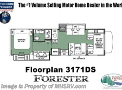 New 2018  Forest River Forester 3171DS Bunk Model RV for Sale W/ Jacks, Arctic by Forest River from Motor Home Specialist in Alvarado, TX