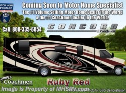 New 2018  Coachmen Concord 300DS for Sale at MHSRV W/Rims, Sat & Jacks by Coachmen from Motor Home Specialist in Alvarado, TX