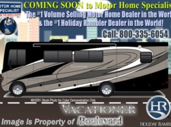 New 2018  Holiday Rambler Vacationer 35P RV for Sale W/LX Pkg, Stack W/D, Sat, L-Sofa by Holiday Rambler from Motor Home Specialist in Alvarado, TX